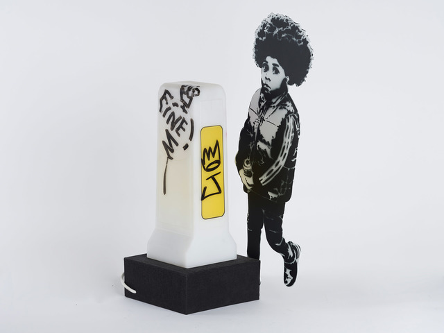 , 'Juniori - Rude kids ( Folly serie) - tagged by Ben EINE ,' 2019, GCA Gallery