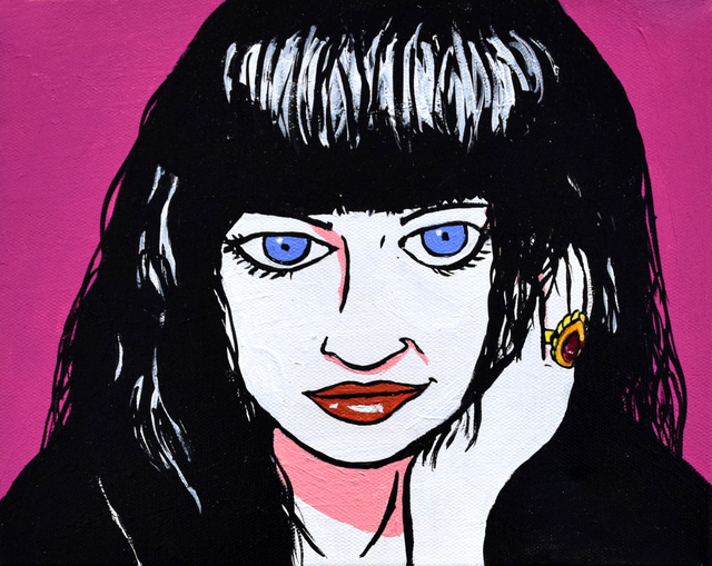 , 'Lydia Lunch,' 2015, Fountain House Gallery