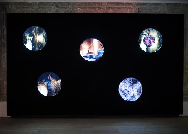 , 'Fire Wall,' 2018, Galerist