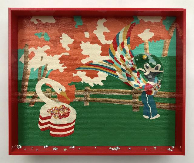 Erica Rosenfeld, 'SWAN-CAKE WITH RAM-BOY, ', 2019, Heller Gallery