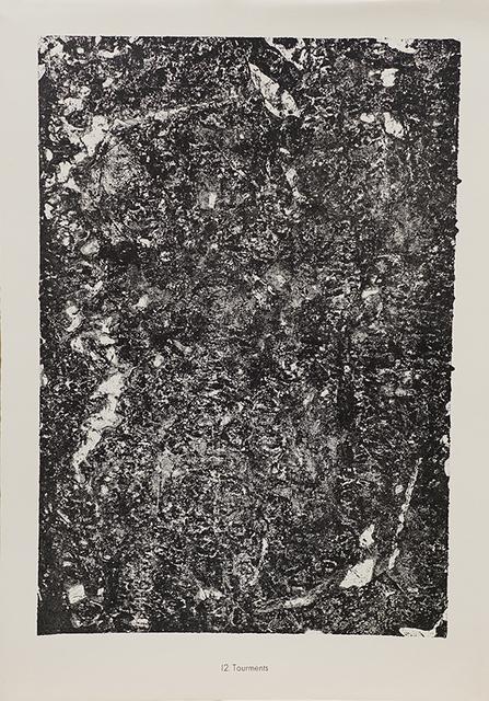 Jean Dubuffet, '12. Tourments', 1959, Maroncelli 12