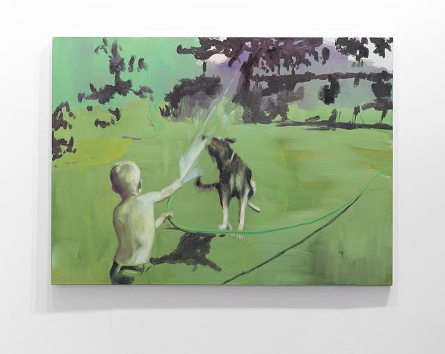 , 'Green Hose,' 2017, SMAC ART GALLERY
