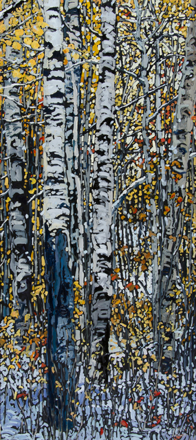 , 'Winter Dancing on the Heels of Autumn,' 2015, Abend Gallery