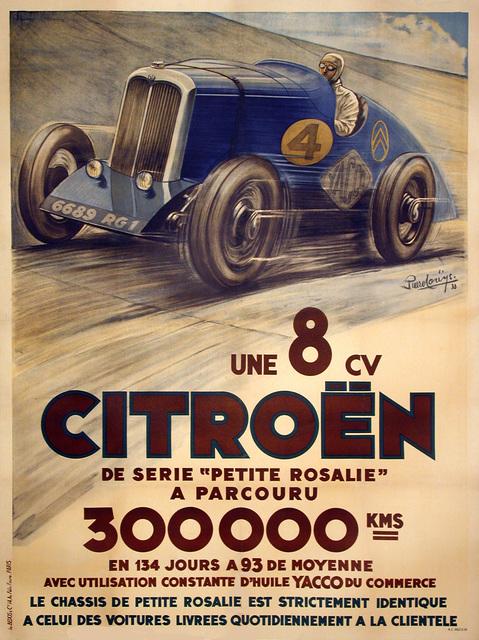 , 'Citroen Une 8 CV de Serie - Petite Rosalie 300,000 kms,' 1933, Omnibus Gallery