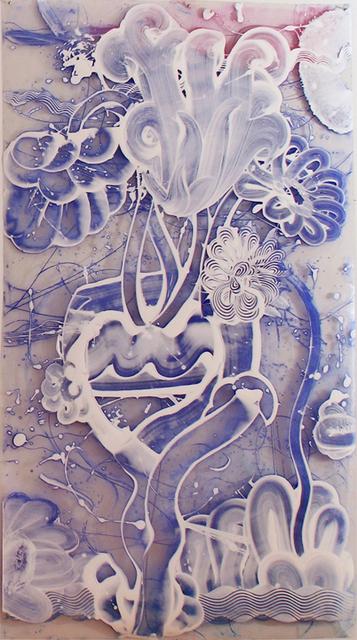 Catherine Howe, 'Reverse Mylar Painting (Violet)', 2019, Winston Wächter Fine Art
