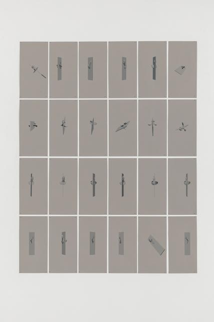 , 'MERGING STUDY (MASK+WALL) #1,' 2017, Baert Gallery