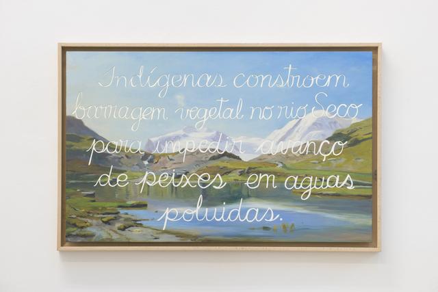 , 'Espejismo Sobre Paisaje Europeo II,' 2017, Galeria Leme