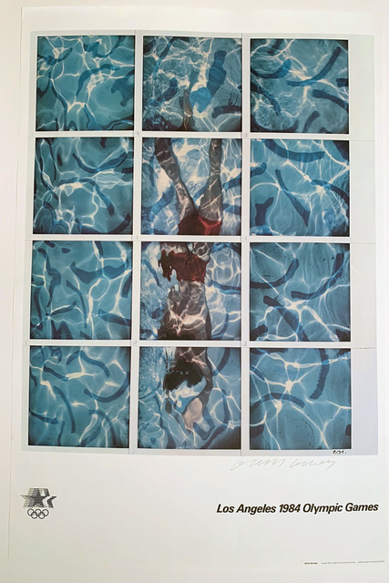 David Hockney, '1984 LA Olympics Signed Poster Portfolio', 1984, David Lawrence Gallery
