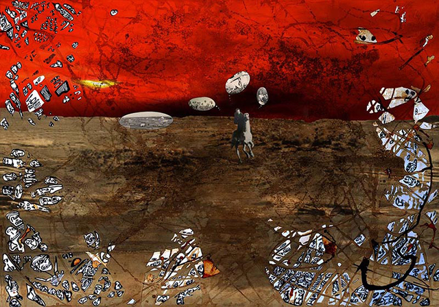 , 'Pied Noir Cowboy,' 2013, Janet Rady Fine Art