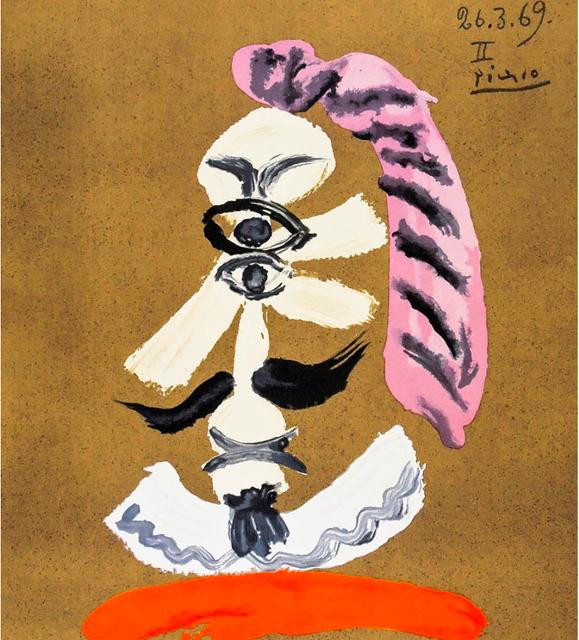 Pablo Picasso, 'Portraits Imaginaires, 26.3.69 II', 1969, BOCCARA ART