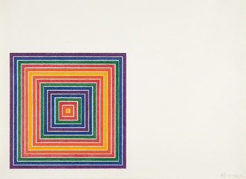 Frank Stella, 'Honduras Lottery Co., from Multicolored Squares,' 1972, Phillips: Evening and Day Editions (October 2016)