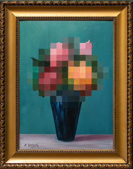 André Schulze, 'Bouquet', 2020, Painting, Oil on board, Paradigm Gallery + Studio