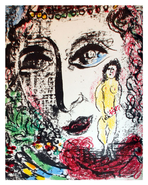 Marc Chagall, 'Apparition at the Circus', 1963, Print, Lithograph printed in colors on wove paper., Galerie d'Orsay