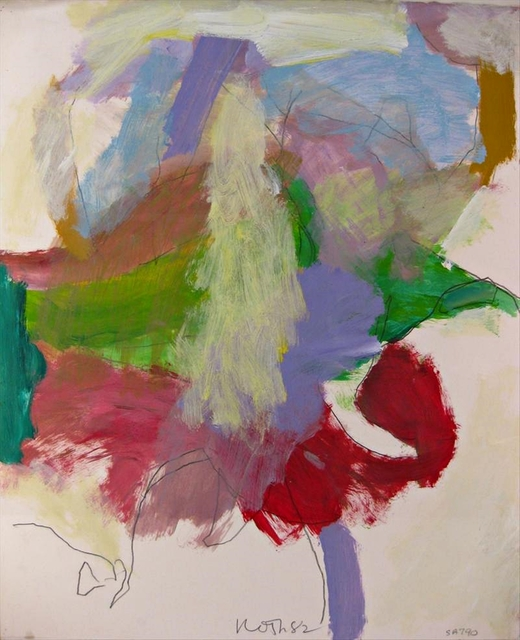 , 'Untitled Abstract Expressionist Painting ,' 1982, Alpha 137 Gallery