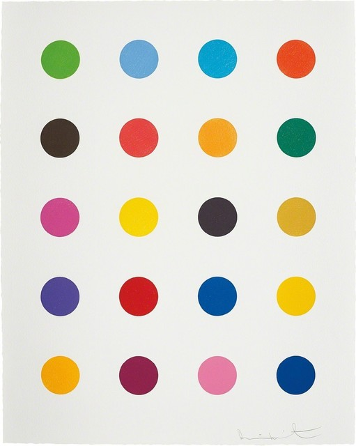 Damien Hirst, 'Benzyloxyurea, from 40 Woodcut Spots', 2011, Lougher Contemporary