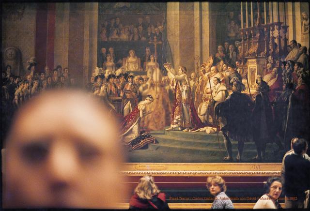 , 'Pixel Terror, Autorretrato con David,' 1982, Isabel Croxatto Galería