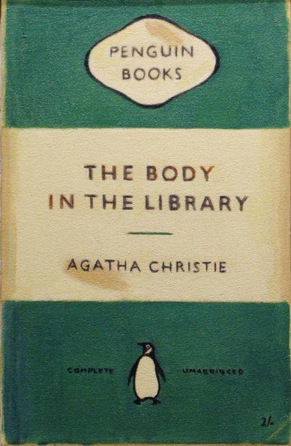 Duncan Hannah, 'Agatha Christie - The Body in the Library', 2008, Aurifer AG