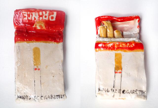 , 'Prince Cigarettes,' 2015, V1 Gallery