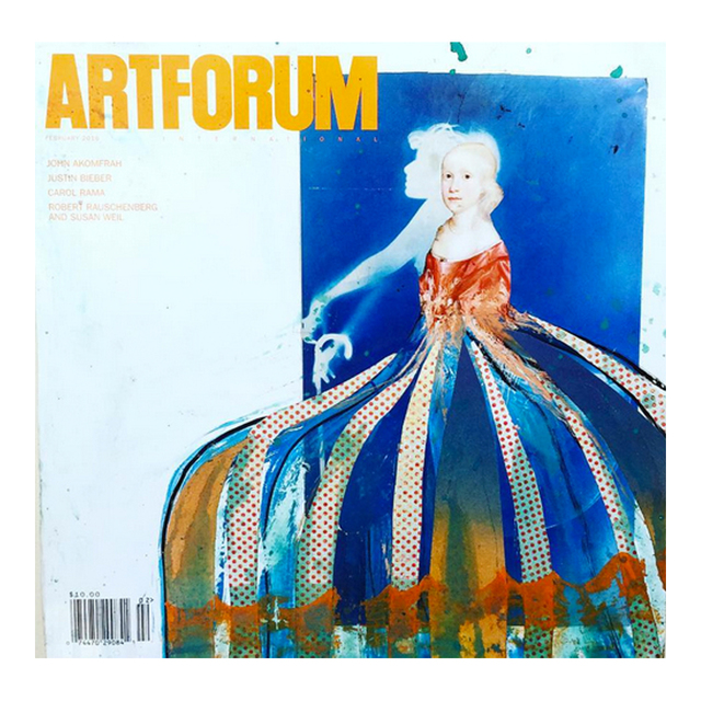 , 'Altered Artforum #6,' 2016, Klowden Mann