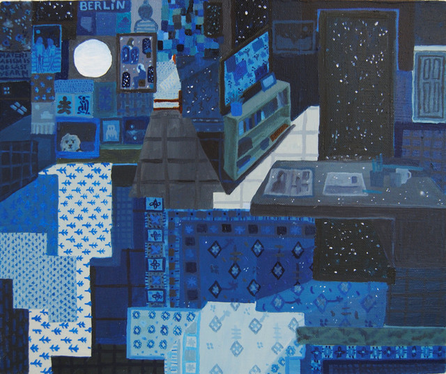 , 'Night Room,' 2017, The Painting Center