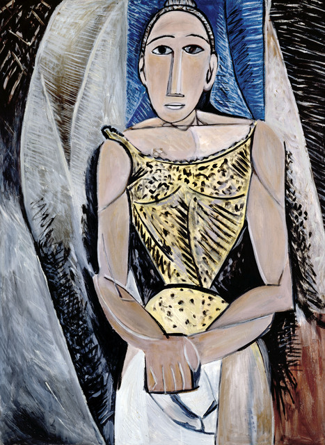 Mike Bidlo, 'Not Picasso (Woman in yellow, 1907)', 1987, Galerie Andrea Caratsch