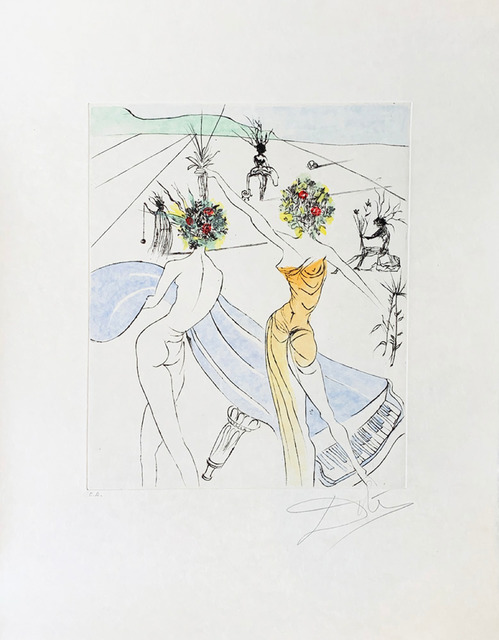 Salvador Dalí, 'Flower Woman with Soft Piano', 1973, Galerie d'Orsay