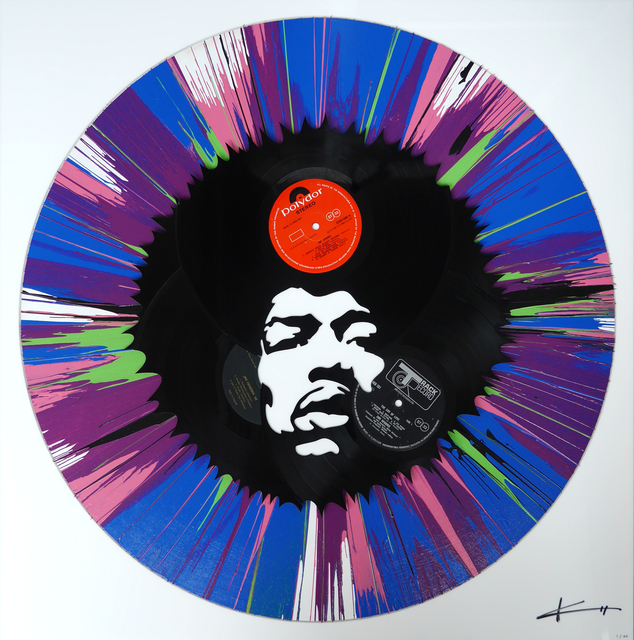 , 'Jimi in a Spin,' 2016, Duran Mashaal