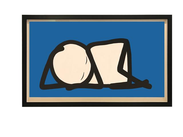 , 'Sleeping Baby Blue,' 2015, Galerie Kronsbein