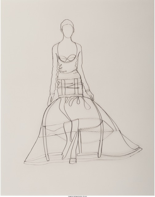 Vik Muniz, 'Rochas (from the Pictures of Wire series)', 2005, Heritage Auctions
