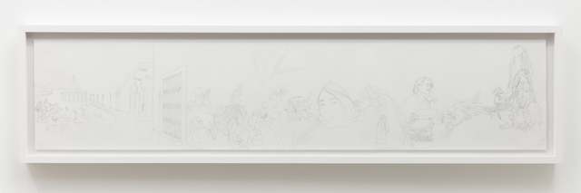 , 'Original Fragment from Puerto Rico Drawing,' 2007, Luis De Jesus Los Angeles