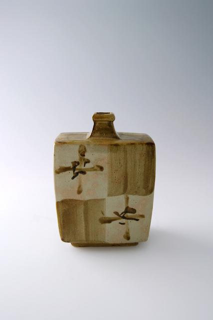 Shōji Hamada, 'Squared bottle, tetsue brushwork', 1965, Pucker Gallery