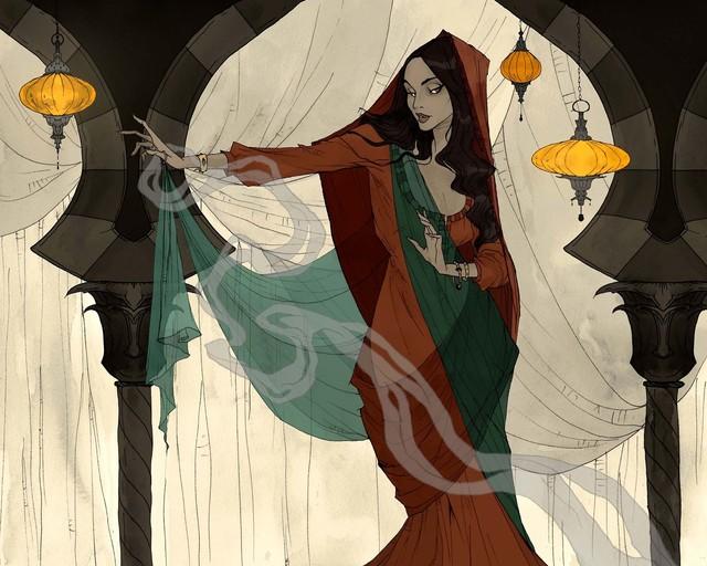 , 'The Vizier's Daughter,' , Helikon Gallery & Studios