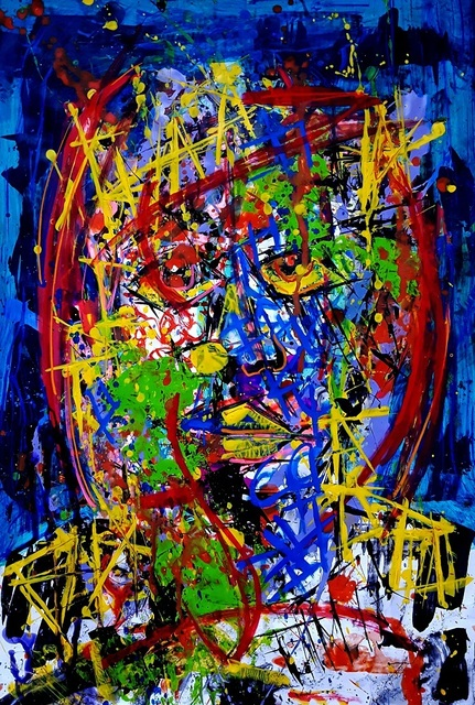 Franck de las Mercedes, 'Os', 2017, Painting, Acrylic on canvas, The Contemporary Art Modern Project
