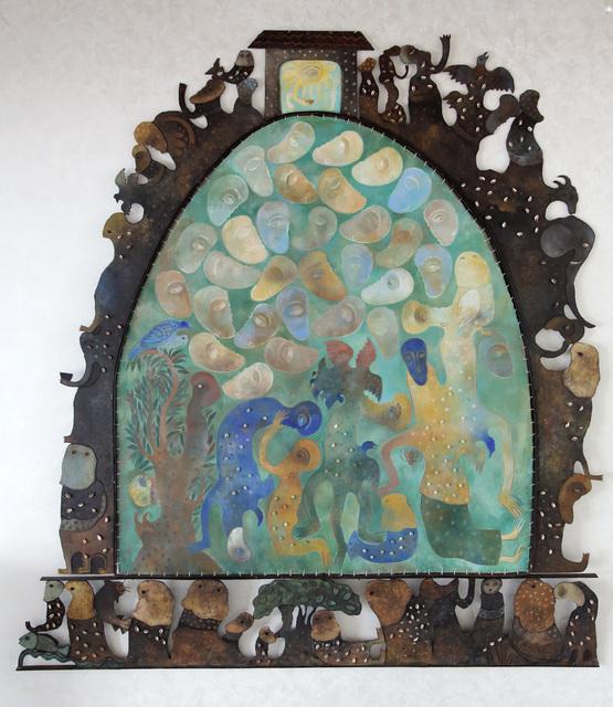 Manuel Mendive, 'Las Cabezas', 2009, L&E Private Art Collection