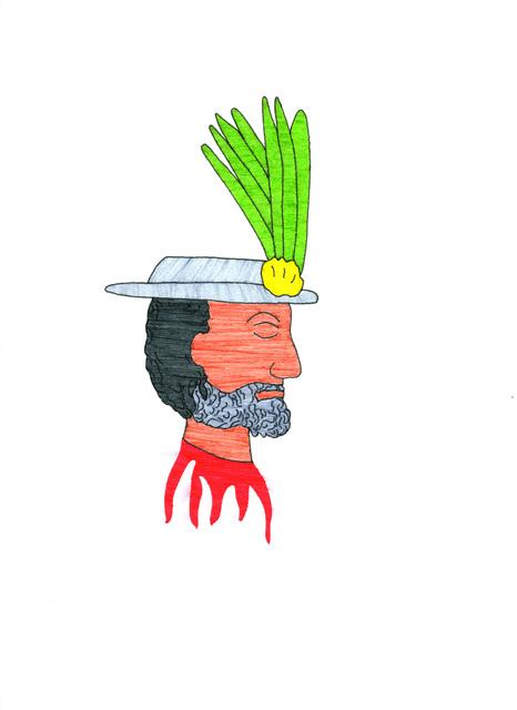 , 'Máscara del Conquistador (Conquistador Mask,' 2014, Fazakas Gallery