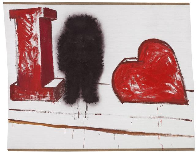 , 'Untitled (I Heart-Shape),' 2015, Boers-Li Gallery