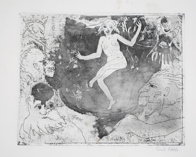 , 'Der Tod als Tänzerin,' 1918, Henze & Ketterer