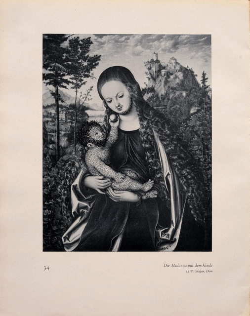 , '34 Die Madonna mit dem Kinde (Love Paintings),,' 2016, Casa Triângulo
