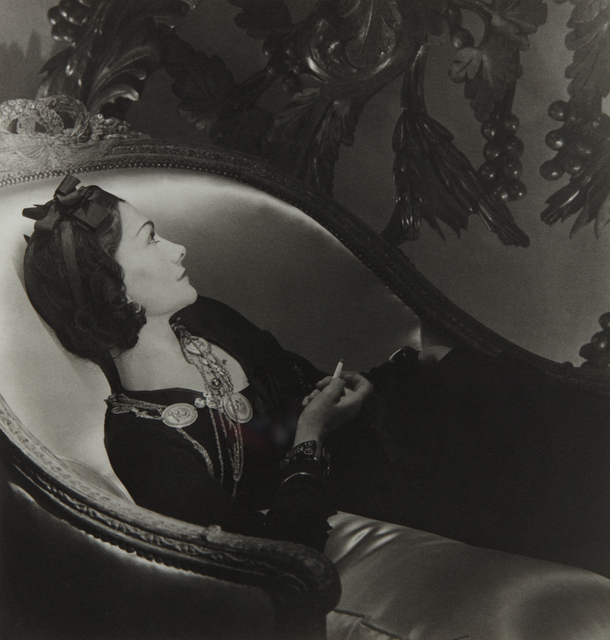 Horst P. Horst, 'Coco Chanel, Paris', 1937-printed later, Phillips