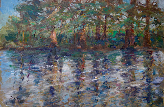 , 'Frio River Reflections ,' , Wally Workman Gallery