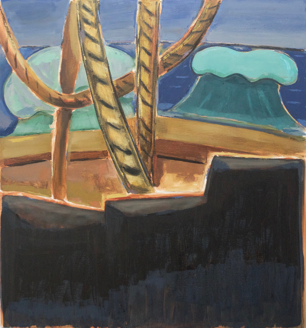 , 'Untitled: Castaway, View from the Deck of the Aurore,' 2018, Jenkins Johnson Gallery