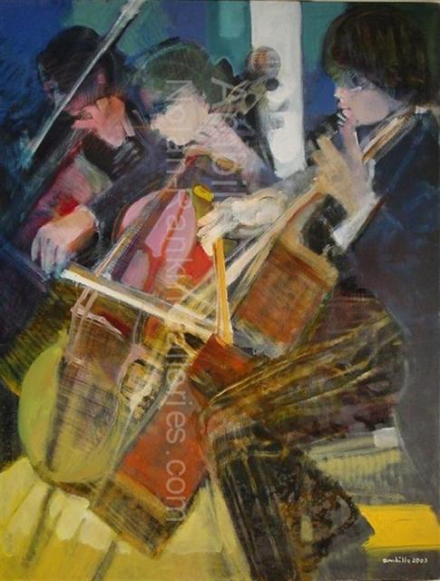 , 'Les Violoncelles Bleus,' 2003, Nolan-Rankin Galleries
