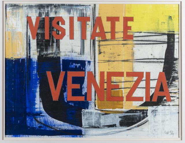 George Dannatt, 'Visitate Venezia', 1989, Waterhouse & Dodd