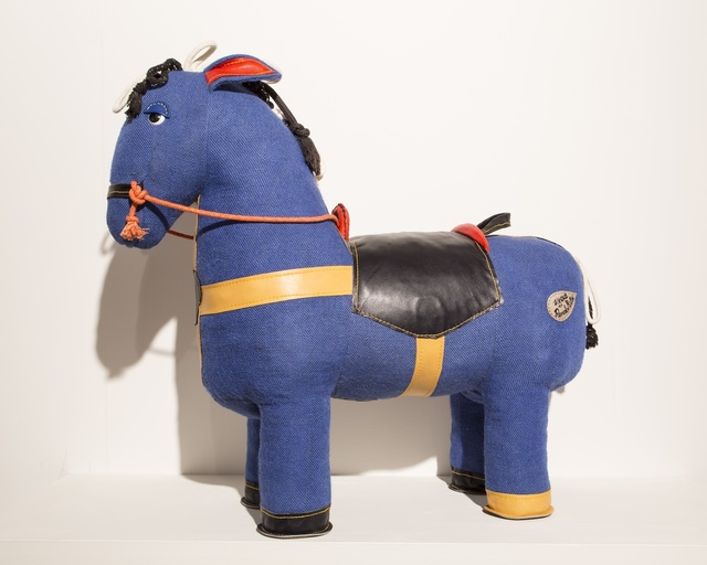 , 'Therapeutic Toy Magic Horse in light blue, designed and made by Renate Müller,' 2015, R & Company