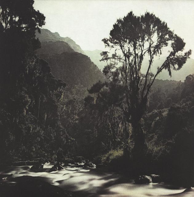 , 'Fullmoon@Bujuku: Mountains of the Moon,' 2010, Crown Point Press