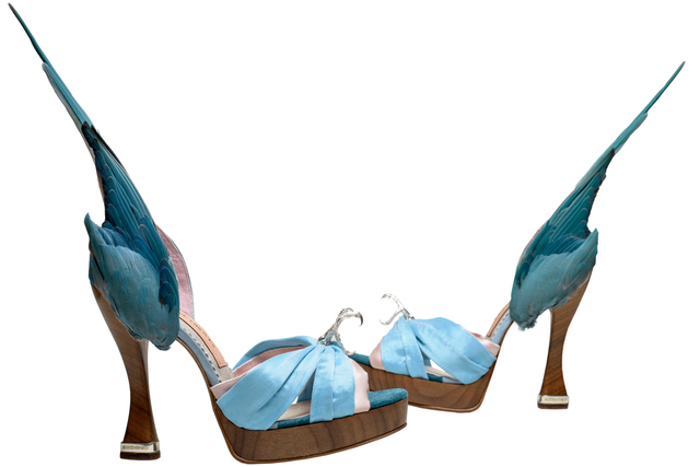 , ''Parakeet' shoes,' 2014, Victoria and Albert Museum (V&A)