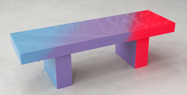 , 'Pink to Blue Bench 1,' 2014, Hosfelt Gallery