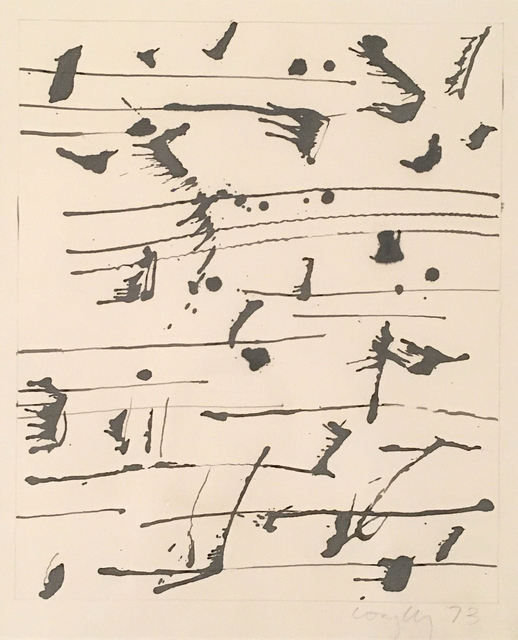Graham Coughtry, 'Musical Notes Series', 1973, Rumi Galleries
