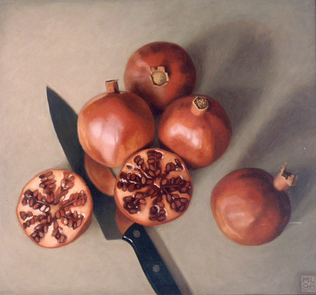, 'Five Pomegranates,' 1996, Forum Gallery