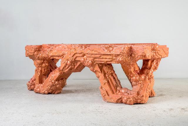 Chris Schanck, 'Cu', 2018, Design/Decorative Art, Steel, polystyrene, resin, aluminum foil, Friedman Benda